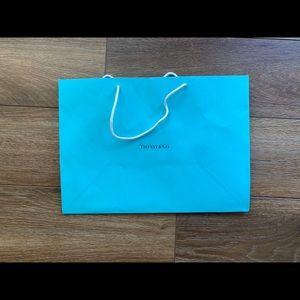Tiffany paper bag